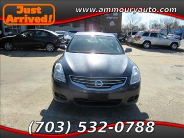 2010 Nissan Altima for sale in Falls Church, VA