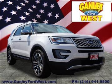 2017 Ford Explorer for sale in Cleveland, OH