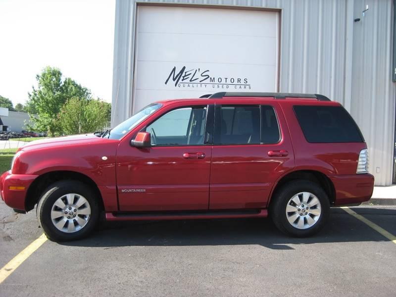 2007 Mercury Mountaineer for sale at Mel's Motors in Nixa MO