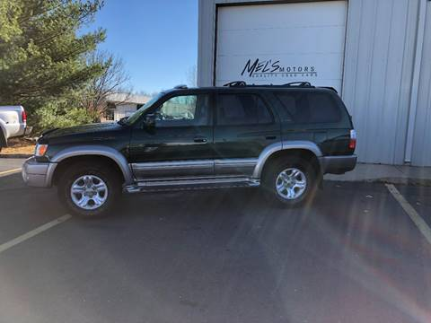 2001 Toyota 4Runner for sale at Mel's Motors in Nixa MO