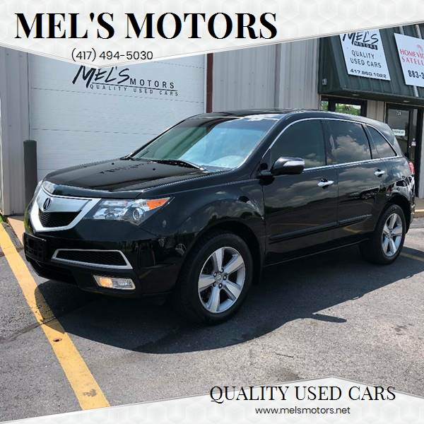 2012 Acura MDX for sale at Mel's Motors in Nixa MO