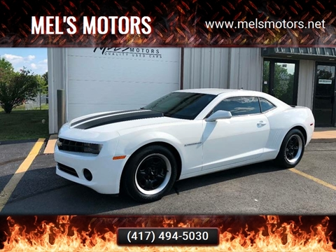 2012 Chevrolet Camaro for sale at Mel's Motors in Nixa MO