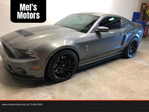 2013 Ford Shelby GT500 for sale at Mel's Motors in Nixa MO