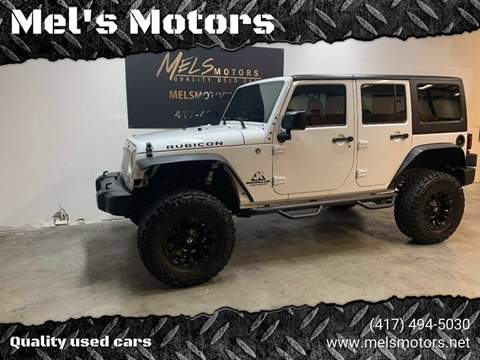 2015 Jeep Wrangler Unlimited for sale at Mel's Motors in Nixa MO