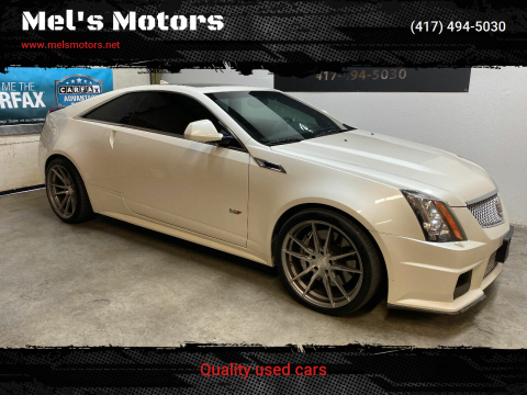 2011 Cadillac CTS-V for sale at Mel's Motors in Nixa MO