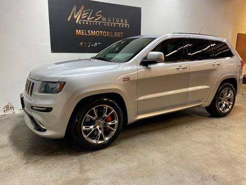 2012 Jeep Grand Cherokee for sale at Mel's Motors in Nixa MO