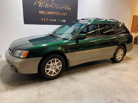 2001 Subaru Outback for sale at Mel's Motors in Nixa MO