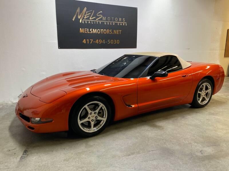 2002 Chevrolet Corvette for sale at Mel's Motors in Nixa MO