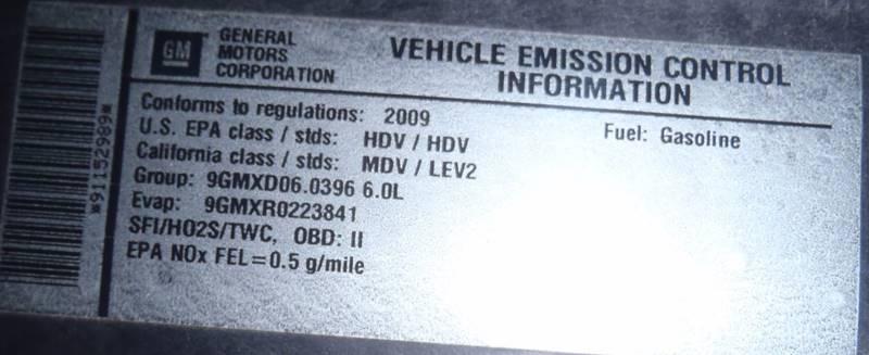 2009 GMC Savana Passenger for sale at Cass County Cars in Atlanta TX