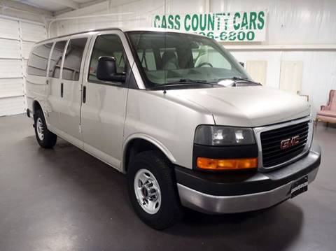 2009 GMC Savana Passenger for sale at Cass County Cars in Atlanta TX