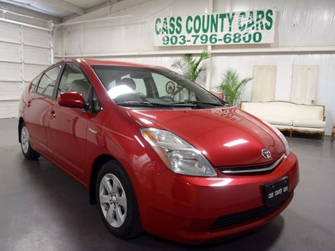 2008 Toyota Prius for sale at Cass County Cars in Atlanta TX