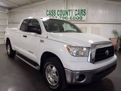 2007 Toyota Tundra for sale at Cass County Cars in Atlanta TX
