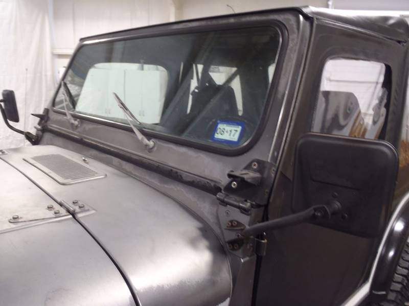 1986 Jeep CJ-7 for sale at Cass County Cars in Atlanta TX