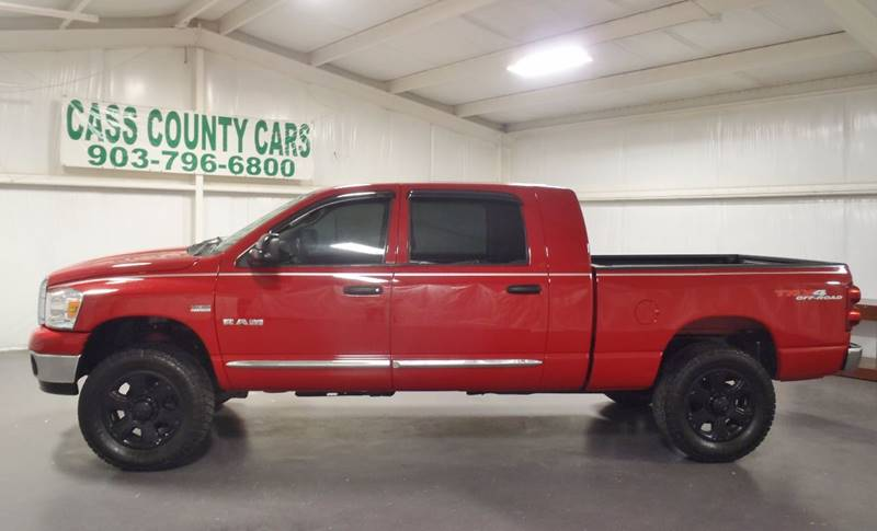 2008 Dodge Ram Pickup 1500 for sale at Cass County Cars in Atlanta TX