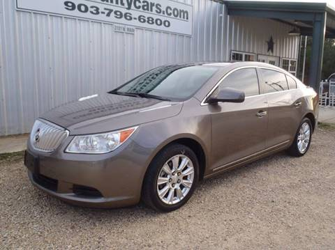 2012 Buick LaCrosse for sale at Cass County Cars in Atlanta TX