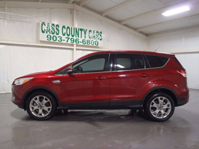 2013 Ford Escape for sale at Cass County Cars in Atlanta TX