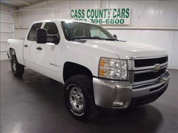 2009 Chevrolet Silverado 2500HD for sale at Cass County Cars in Atlanta TX