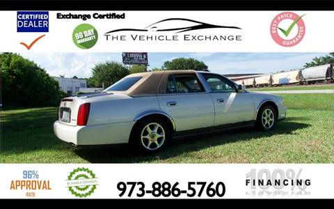 2002 Cadillac DeVille for sale at The Vehicle Exchange Inc. in Fort Lauderdale FL