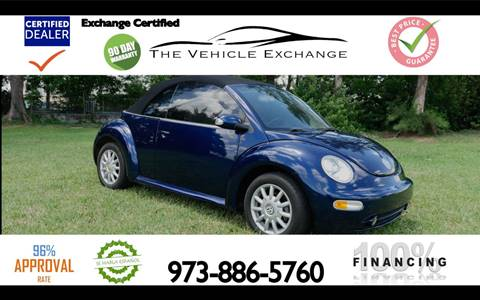 2005 Volkswagen New Beetle for sale at The Vehicle Exchange Inc. in Fort Lauderdale FL