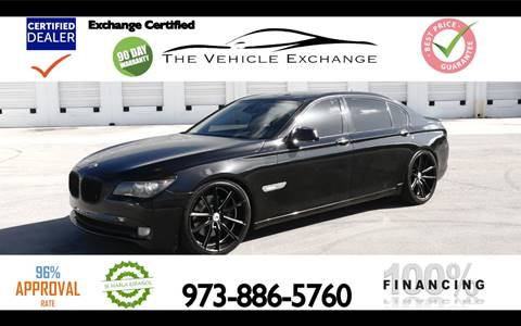 2009 BMW 7 Series for sale at The Vehicle Exchange Inc. in Fort Lauderdale FL