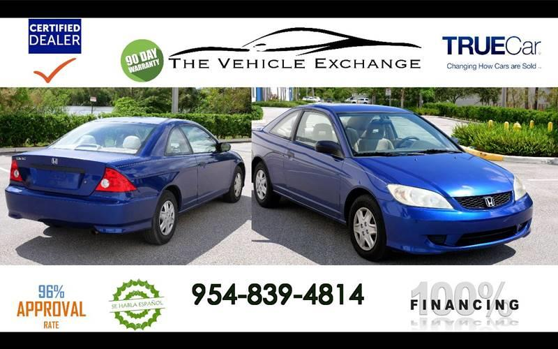 2004 Honda Civic for sale at The Vehicle Exchange Inc. in Fort Lauderdale FL