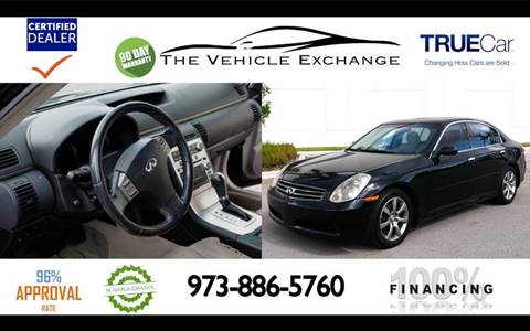 2005 Infiniti G35 for sale at The Vehicle Exchange Inc. in Fort Lauderdale FL