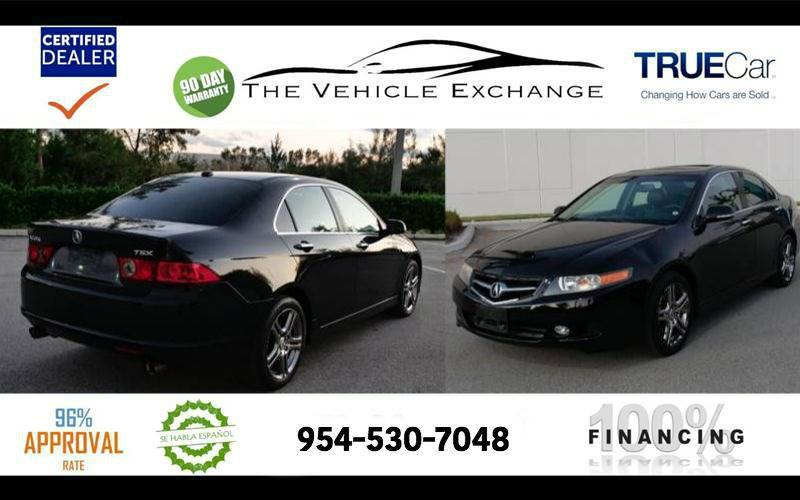 Acura TSX WNavi In Fort Lauderdale FL The Vehicle Exchange - Acura dealer fort lauderdale