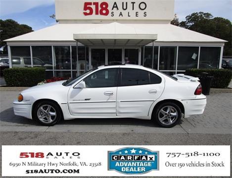 2001 Pontiac Grand Am for sale in Norfolk, VA
