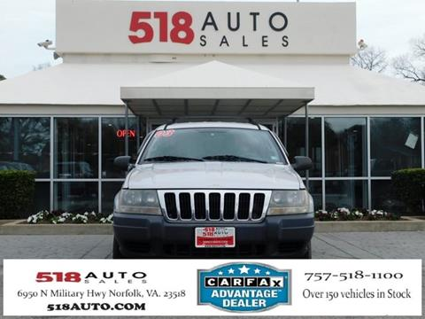 2003 Jeep Grand Cherokee for sale in Norfolk, VA