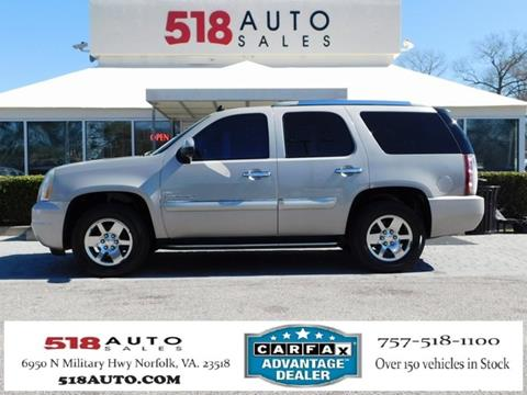 2007 GMC Yukon for sale in Norfolk, VA