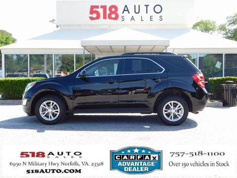 2016 Chevrolet Equinox For Sale In Norfolk Va