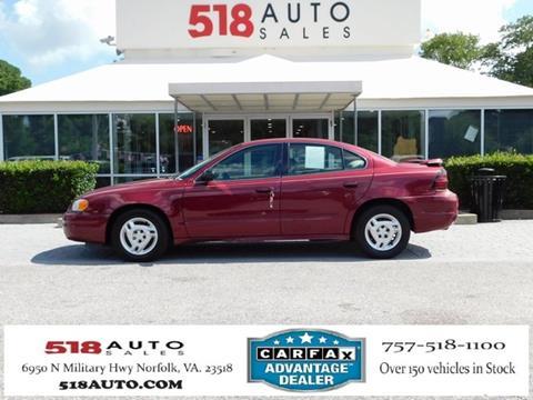 2005 Pontiac Grand Am for sale in Norfolk, VA
