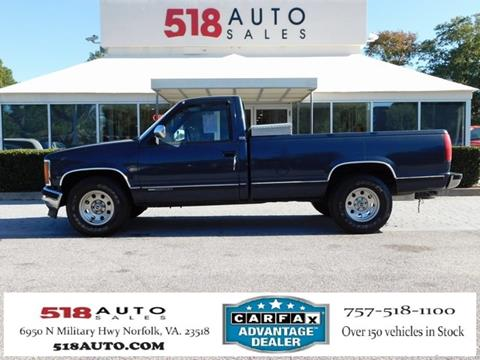 1988 GMC Sierra 2500 for sale in Norfolk, VA
