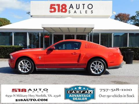 2011 Ford Mustang for sale in Norfolk, VA