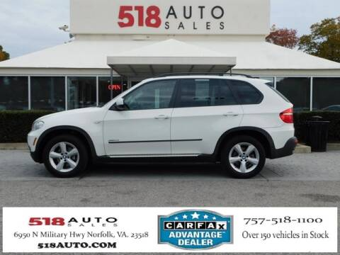 Used BMW Suv >> 2009 Bmw X5 For Sale In Norfolk Va
