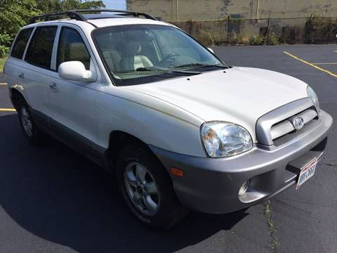 2005 Hyundai Santa Fe for sale at VENTURE MOTORS in Euclid OH