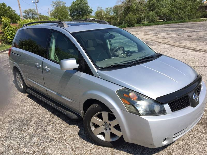 2004 Nissan Quest for sale at VENTURE MOTORS in Euclid OH