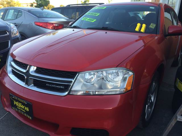 2011 Dodge Avenger for sale at Los Primos Auto Plaza in Brentwood CA