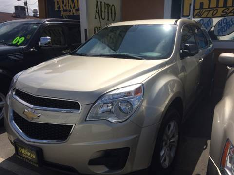 2014 Chevrolet Equinox for sale at Los Primos Auto Plaza in Brentwood CA