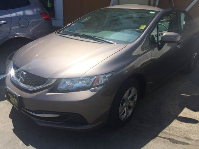 2014 Honda Civic for sale at Los Primos Auto Plaza in Brentwood CA