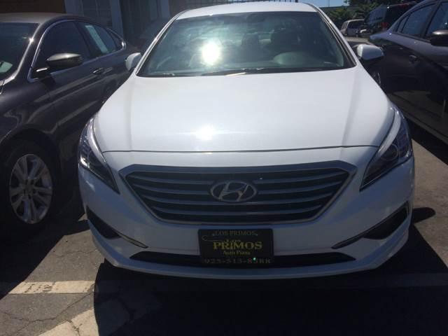 2016 Hyundai Sonata for sale at Los Primos Auto Plaza in Brentwood CA