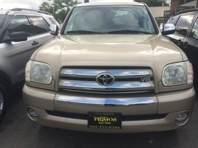 2005 Toyota Tundra for sale at Los Primos Auto Plaza in Brentwood CA