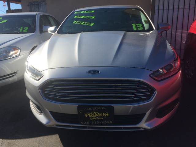 2013 Ford Fusion for sale at Los Primos Auto Plaza in Brentwood CA