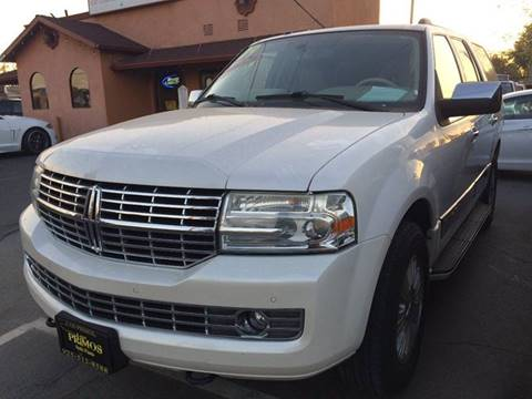 2009 Lincoln Navigator for sale at Los Primos Auto Plaza in Brentwood CA