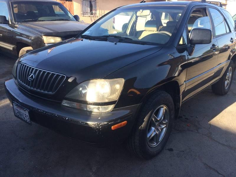 1999 Lexus RX 300 For Sale At Los Primos Auto Plaza In Brentwood CA