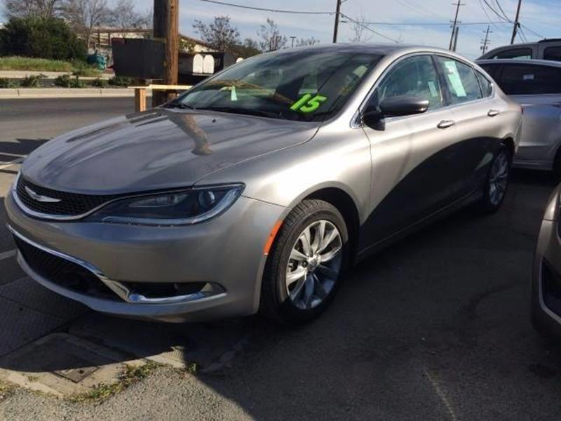 2015 Chrysler 200 For Sale >> 2015 Chrysler 200 C In Brentwood Ca Los Primos Auto Plaza