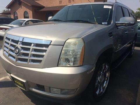 2007 Cadillac Escalade ESV for sale at Los Primos Auto Plaza in Brentwood CA