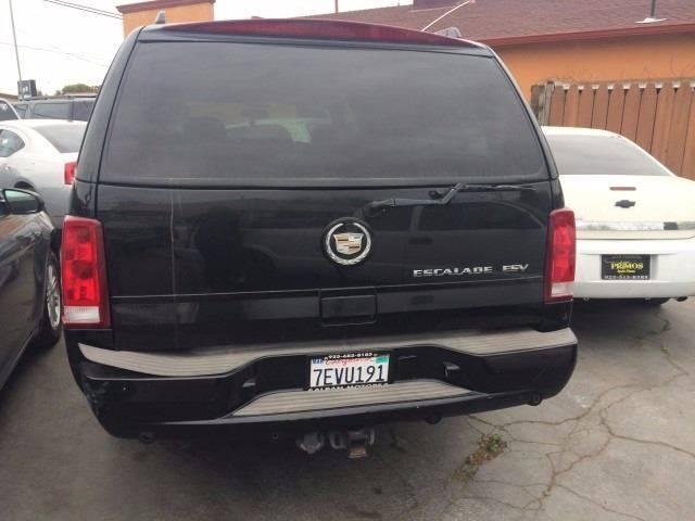 2004 Cadillac Escalade ESV for sale at Los Primos Auto Plaza in Brentwood CA