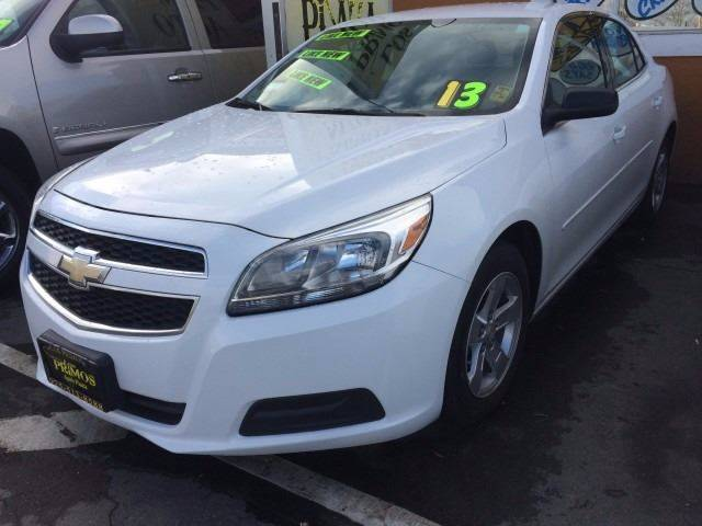 2013 Chevrolet Malibu for sale at Los Primos Auto Plaza in Brentwood CA