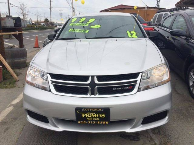 2012 Dodge Avenger for sale at Los Primos Auto Plaza in Brentwood CA